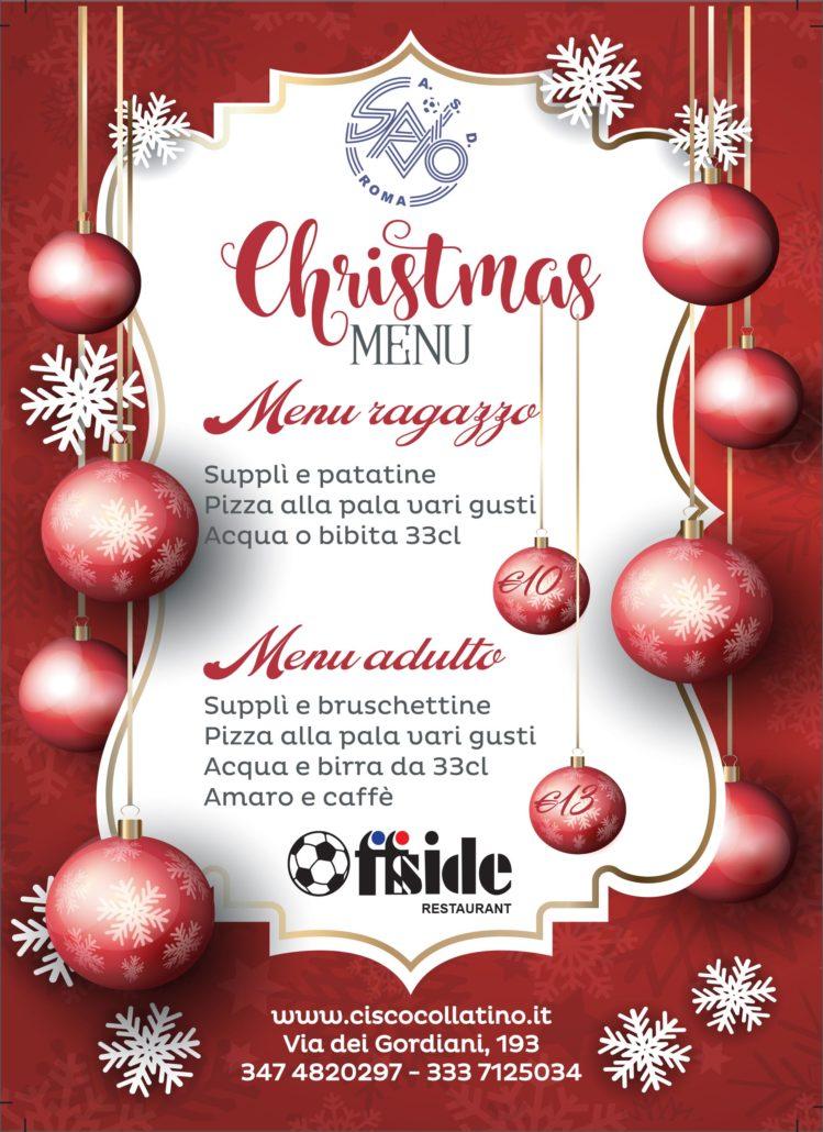 I Menu Di Natale 2019.Menu Di Natale Cisco Collatino